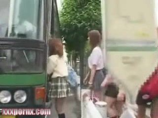 Japanese Girls Will Not Have Mercy For Rude Guy