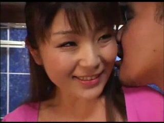 Asian Housewife Fucked In Kitchen