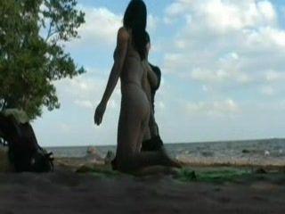 Amateur Teen Sex On The Beach
