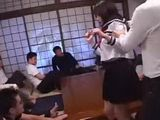 Japanese Girl Punished By Whole Class