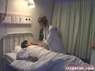 Japanese Night Shift Nurses Threating Patient Well