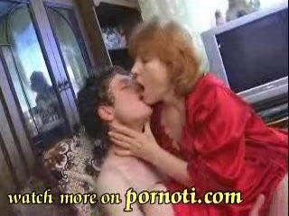 Boy Fucks His Neighbors Mature Wife