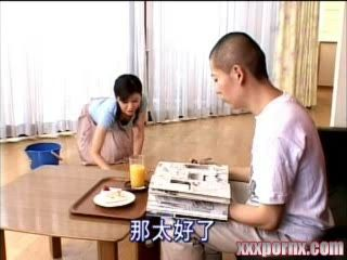 Japanese Housewife Drives Crazy Husbands Nephew
