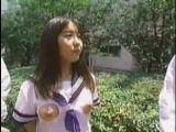 Japanese Teen Has Strange Schoolgirl Outfit