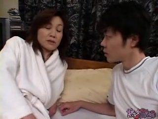 Japanese Mom Fuck Young Husbands Cousin