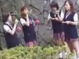 Japanese Teens Were Smile Before Friends Take Them To The Party