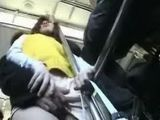Japanese Mom Molested In Public Bus