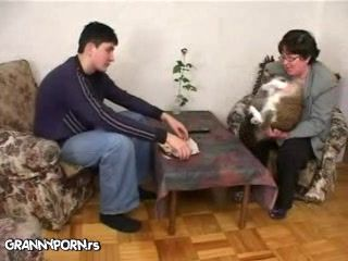 Granny Cat Owner Abuse Young Vet