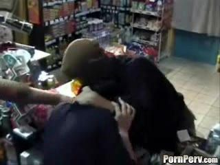 Two Robbers Brutally Rape Cashier Woman - Rape Fantasy