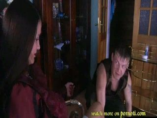 Lady Boss Fucked Her Servant Hard