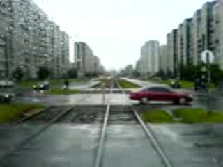 Guy Runs Out On A Street Naked And Starts Arguing With Trains Bare Naked
