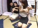 Two Japanese Best Friends Fucked For Punishment
