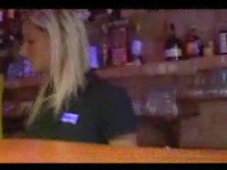 barmeid fucked public