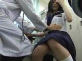 The anus medical examination of the abnormal doctor