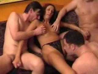 Big Amateur Orgy In A Local Pub