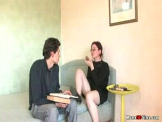 Mature Women Anal Fucked By A Young Dude