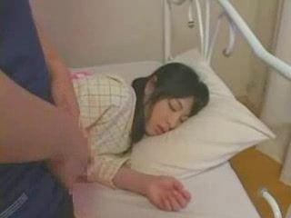 Sleeping girl fucked hard