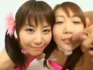 Japanese Teens Facial