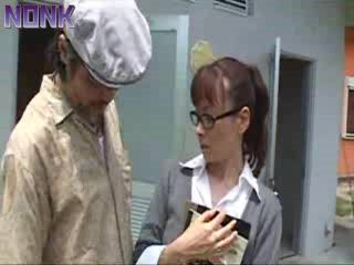 Japanese Teacher Caught Being Blackmailed and Fucked In School Toilet by Principal Then Was Fucked by Him Too