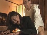 Dead Old Japanese Husband Awaken To Fuck His Desperate Crying Widow For The Last Time On His Funeral