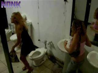 Horror In Public Toilet
