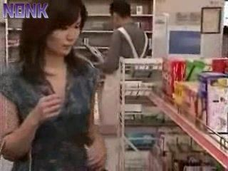 Japanese Woman Caught In Stealing Fucked For Punishment By Store Owner