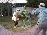 Japanese Statue Fuck For Audience