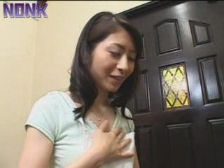 Salesman Will Try To Convince Japanese Housewife To Buy His Sextoys
