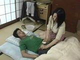 Japanese Mother Nursing Husband's Young Nephew Fever -  Fantasy
