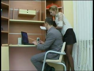 New Secretary Tried To Escape But Boss Couldn't Calm Until She Gave Her Sweet Ass