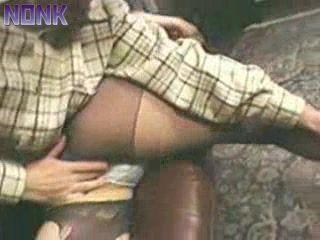 Japanese Housewife In Black Pantyhose raped In Her House