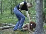Black Girl  Fucked In Woods By White Guy - Fuck Fantasy