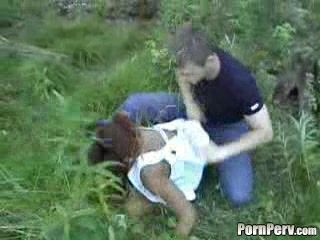 Black Girl Brutally Raped In Woods By White Guy - Rape Fantasy