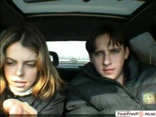 Russian Teen Couple Public Car Sex