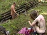 Step Father Rape Step Daughter In Woods - Incest Rape Fantasy