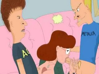 Beavis and ButtHead Fuck Their Teacher - Cartoon Porn Video
