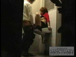 Japanese Teen Fucked In Restaurant Public Toilet - Hidden Cam