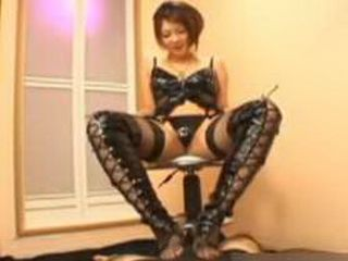 Hot Japanese Milf Seducing Young Man