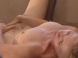 Mature Lady Fingering Her Hairypussy