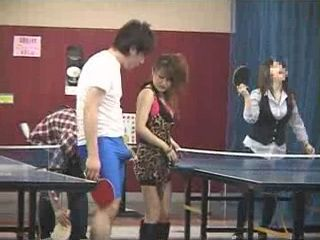 Playing Ping Pong End Up With Fucking
