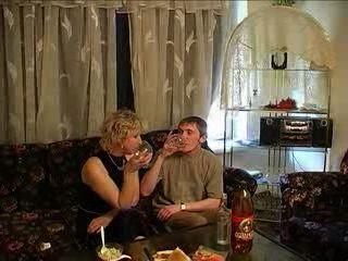 Russian Mature Woman Fuck Neighbor Boy