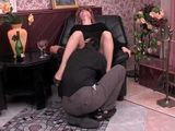 Mature Aunt In Pantyhose Fucked By her Young Lover
