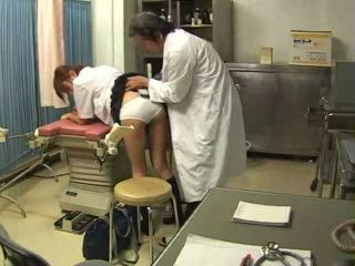 Old Doctor Attacked and Fucked Schoolgirl Teen In His Office
