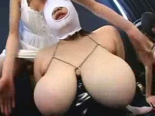 Big Boobs Japanese Lesbian Fetish and Strap On Fuck