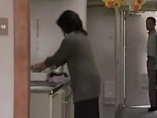 Mature Asian Woman Fucked By Daughter's Young Husband