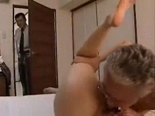 Old Father Caught By Son Fucking Son's Young Wife