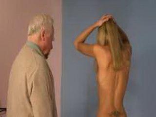 CrazyGrandpa Punishing Teen Blonde Girl