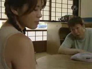 Bad Husband Molesting Japanese Wife