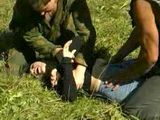 Soldiers  Fuck Captured Enemy Girl In The Field - Fuck Fantasy