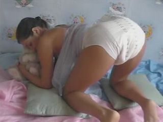 Diaper girl wetting
